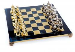 Шахматы Manopoulos Мушкетеры S12BLU