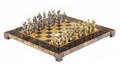 Шахматы Manopoulos Спартанский воин, Коричневые