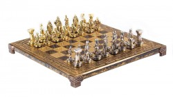 Шахматы  Спартанский воин Manopoulos коричневые  S16MBRO
