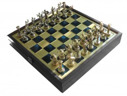 Шахматы Manopoulos Титаны SK5BLU