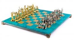 Шахматы Manopoulos Греческая мифология в деревянном футляре S19TIR