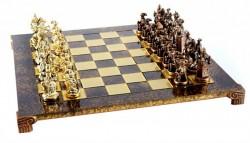 Шахматы  Мушкетеры   Manopoulos в деревянном футляре