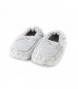 Тапочки грелки  Warmies  серый