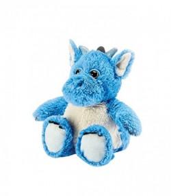 Мягкая игрушка грелка Warmies Динозаврик синий