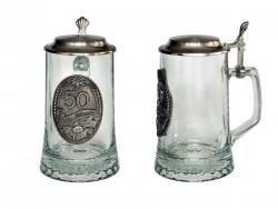 Artina кружка пивная  юбилейная 50