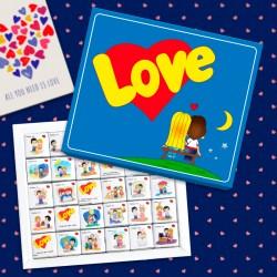 """Большой шоколадный набор """"Love is"""""""
