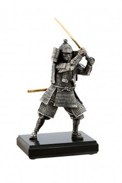 Бронзовая статуэтка Самурай с мечом