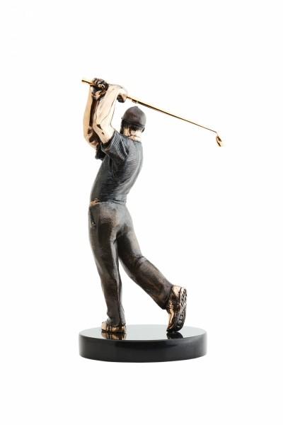 Статуя из бронзы Игрок в гольф