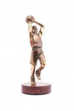 Бронзовая скульптура Баскетболист
