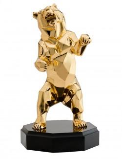 Бронзовая скульптура Медведь