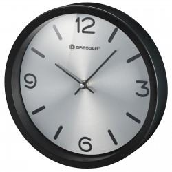 Часы настенные Bresser MyTime Silver Edition Digit Black (8020316CM3000)