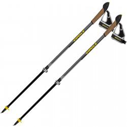 Палки для скандинавской ходьбы Vipole Instructor Vario QL Dark DLX (S2027)