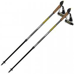 Палки для скандинавской ходьбы Vipole Vario Novice Grey (S2033)