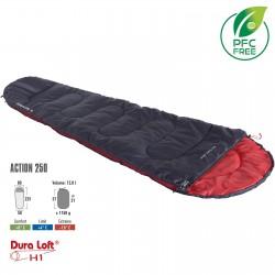 Спальный мешок High Peak Action 250/+4°C Anthra/Red Left (20084)