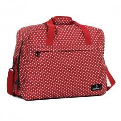 Сумка дорожная Members Essential On-Board Travel Bag 40 Red Polka
