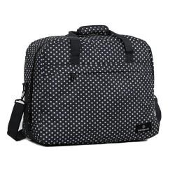 Сумка дорожная Members Essential On-Board Travel Bag 40 Black Polka