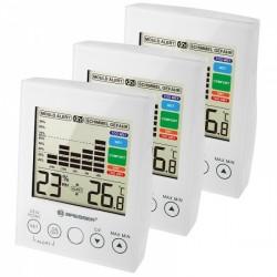 Термометр-гигрометр Bresser MA With Mould Alert White (3 шт)