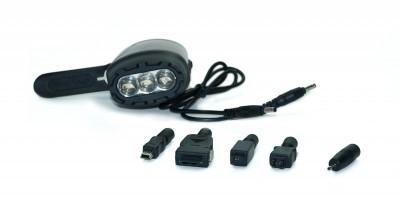 Динамо - фонарь с подзарядкой для мобильного телефона