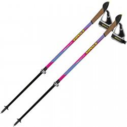 Палки для скандинавской ходьбы Vipole Vario Top-Click QL Violet DLX (P19427)