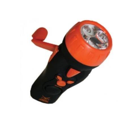Авто-фонарь с динамо подзарядкой