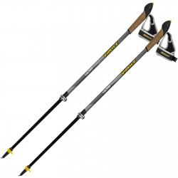 Палки для скандинавской ходьбы Vipole Vario Top-Click QL K.T. Dark DLX (S1856)
