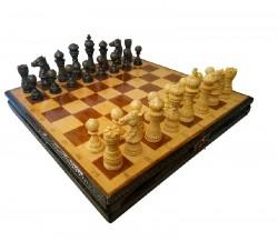 Шахматы ручной роботы Лотос темные (55х55см) NS-SH12