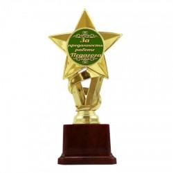 Статуэтка Золотая звезда  За преданность работе Педагога