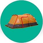 Туристические палатки и аксессуары