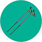 Палки для треккинга и скандинавской ходьбы
