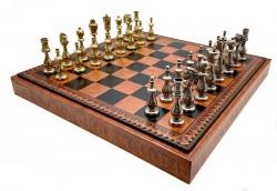 Комплект шахматы шашки нарды   Italfama  81M+212L