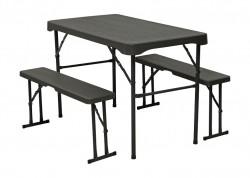 Набор мебели TE-1840 стол и лавки 2 шт.