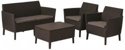Набор мебели Salemo set коричневый
