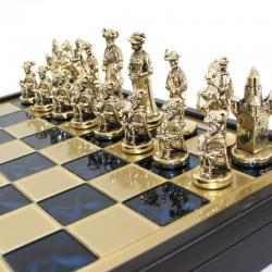 Шахматы Мушкетеры  Manopoulos 40х40 см