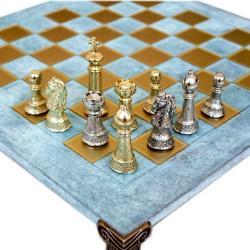 Шахматы Стаунтон Manopoulos 40х40 см