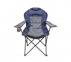Кресло портативное Рыбак Трофей NR-35 синий с серым