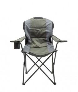 Кресло портативное Турист NR-34 NeRest серый с хаки