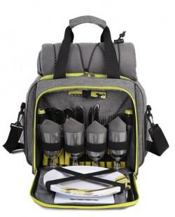 Набор для пикника TE-420 Picnic серый с черным