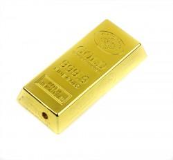 Оригинальная зажигалка слиток золота