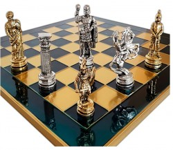 Шахматы Marinakis Римляне 45х45 см