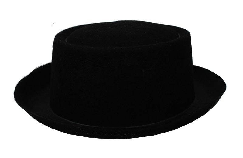 Шляпа фетр черный