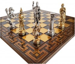 Шахматы Marinakis  Римляне 086-4500KBR 45х45 см