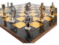 Шахматы Marinakis Римляне 086-4503KBR  45х45 см