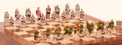 "Шахматные Фигуры - ""Battaglia Romani Barbari""(Small Size)""Бой Римлян С Варварами"""