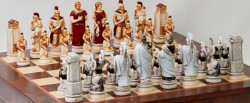 Шахматные Фигуры-ГрекиТроянцы Big Size SP54