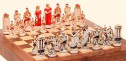 """Шахматные Фигуры - """"Battaglia Di Troia"""" (Medium Size) """"Троянская Битва"""""""