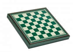 Шахматное Поле-Бокс С Местом Для Укладки Шахмат Зеленая Доска CD33