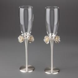 Свадебные бокалы Розы