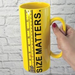 Кружка Гигант Size Matters 20cм  на 1 литр