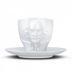 Фарфоровая Чашка с блюдцем Tassen Вильям Шекспир