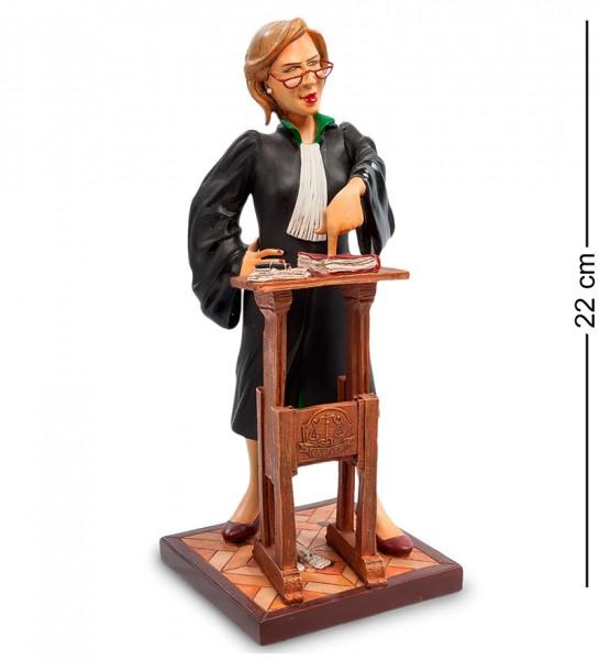 """Статуэтка мал. """"Адвокат"""" (The Lady Lawyer. Forchino)"""